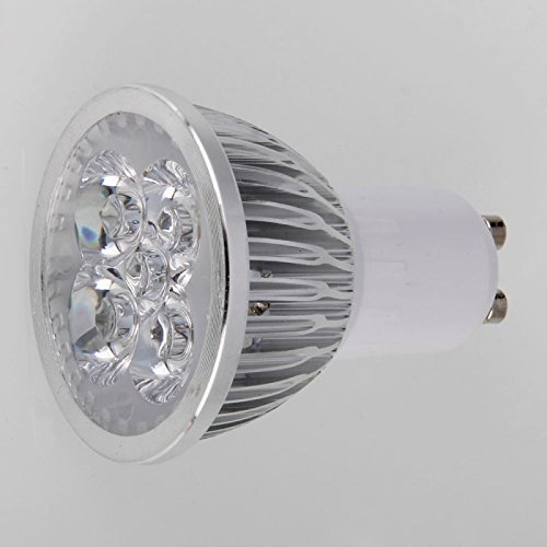 Gu10 4W 4Led 320-360Lm 2800-3200K Warm White Dimmable Led Spotlight Light (110V)