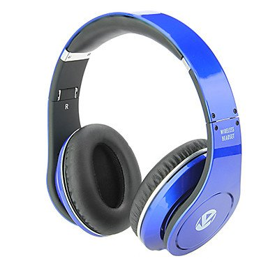 Electronic-DDL BHT-M3 Folding Ergonomic Bluetooth Stereo Excellent Noise Cancelling Over-Ear Headphone , Blue