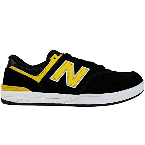 NEW BALANCE NUMERIC Skateboard Shoes LOGAN-S 636 BLACK/YELLOW