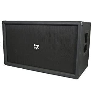 400 Watt 2 x 12 Guitar Cabinet Pro Studio 7 Live Sound New S7212