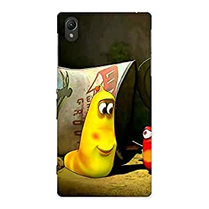 Stylish Naughty Friendly Cartoon Back Case Cover for Sony Xperia Z1