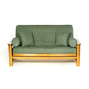 ls covers sussex teal green full futon cover full size