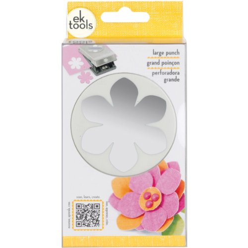 EK Tools Flower Paper Punch, Large, Gardenia (Paper For Flower Making compare prices)