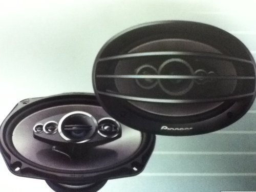"Pioneer Flush- Mount Car Speaker 6""X 9"" Coaxial 5-Way 600W Max."