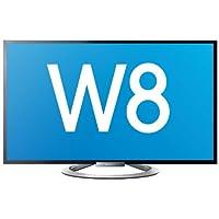 Sony KDL55W805 139cm (55 Zoll) 3D LED-Backlight-Fernseher, EEK A+ (Full HD, 400Hz XRM, DVB-T/C/S, SmartTV) schwarz