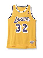 adidas Camiseta sin mangas Los Angeles Lakers Johnson (Amarillo / Morado)