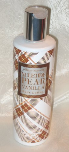 Holiday Traditions YULETIDE PEAR VANILLA Body Lotion 10oz from Bath & Body Works