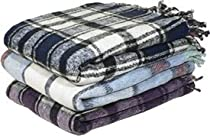 YogaAccessories (TM) Extra Heavy Recycled Mexican Blanket (Colors May Vary)
