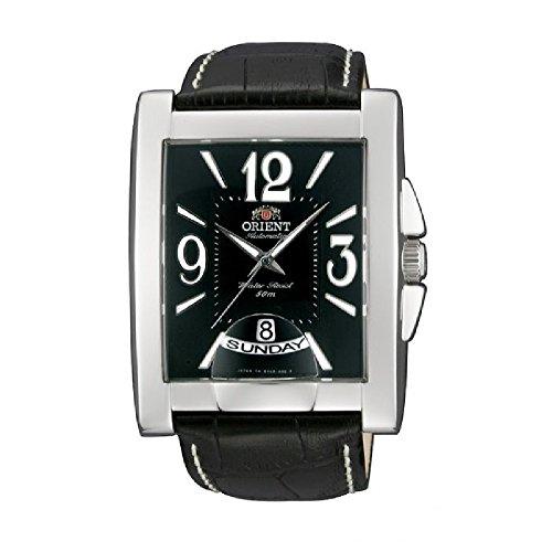 Orient Mens Elegant Leather Watch FEVAD001BT