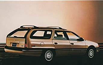 1986 ford taurus wagon original factory postcard at amazon. Black Bedroom Furniture Sets. Home Design Ideas