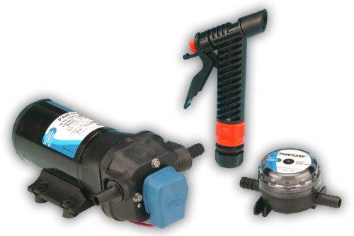 Jabsco 31700-0092 Marine ParMax 4 Washdown Water Pump Kit (4.3-GPM, 50-PSI, 12-Volt, 15-Amp)