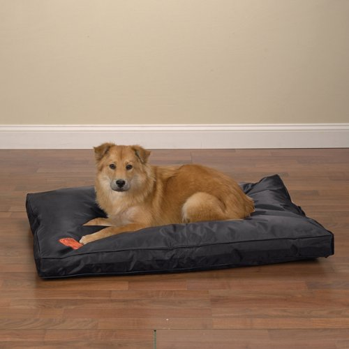 Slumber Pet Nylon Toughstructable Dog Bed, Medium, 36-Inch, Black front-1061090