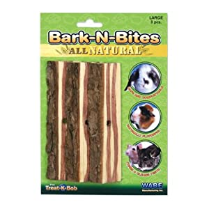 Click to read our review of Rabbit Toys: Ware Manufacturing Bark-N-Bites, 3pc, Lg