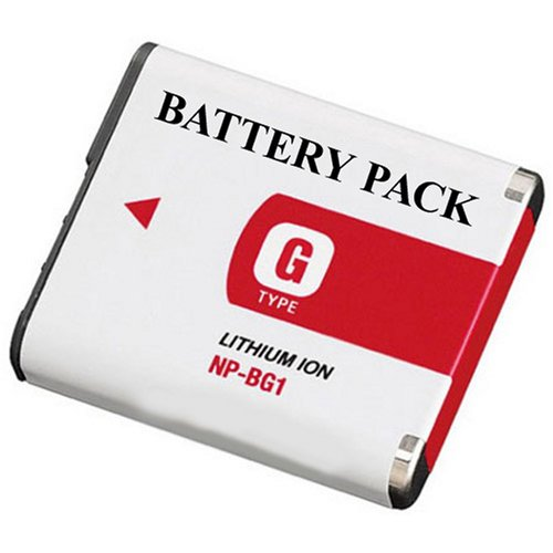 Replacement Sony NP-BG1 Equivalent LithiumIon Camera Battery For SONY DSC-H9/DSC-H7/DSC-H3 /DSC-H50/DSC-W30/DSC-W35/DSC-W50/DSC-W55/DSC-W70