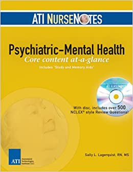 Ati psychiatric nursing questions