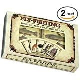Trout & Fly Fishing Playing Cards - 2 Decks