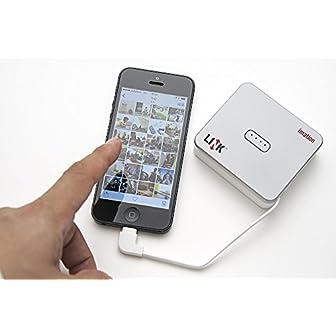 イメーション iPhone用メモリ&バッテリー Lightning/USB対応メモリ LINK Power Driveシリーズ 64GB DAPL-FLS64GB-J