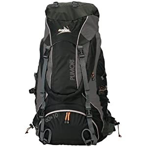 Vango Pumori 60 + 10 Litre Rucksack - Black