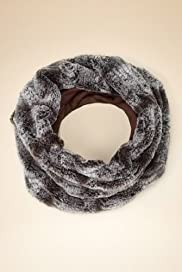 Faux Fur Slouch Snood Scarf [T01-6731-S]