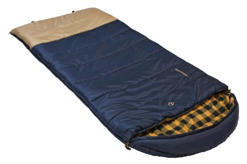 Ledge Sports Nevada +0 F Degree XL Oversize Flannel Lined Sleeping Bag (90 X 40)