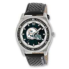 Nfl Officially Licensed Championship Miami Dolphins Watch - Water Resistant by NFL Officially Licensed