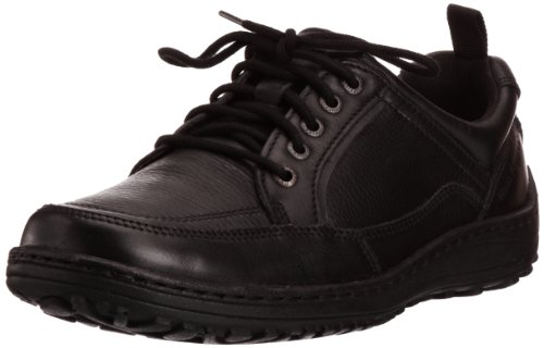 Hush Puppies Mens Belfast_MT Oxford H103360 Black 12 UK, 47 EU