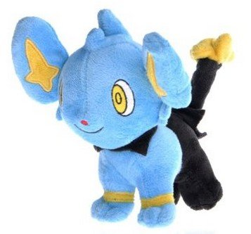 Alice Pokemon Plush Shinx Kolink Figure Doll Stuffed Toy 6 from Alice Co.,ltd