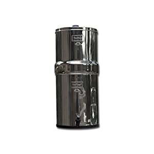 Berkey BK4X2-BB Big Berkey Filtration System with 2 Black Filters and 2 Fluoride Filters