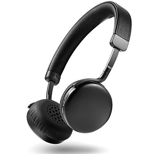 AudioMX Bluetoothヘッドホン ワイヤレス ヘッドホン Bluetooth 4.0 無線 有線可能 高音質 オンイヤー ハンズフリー通話 タブレットPC スマートフォンなどに対応 ブラック MX10