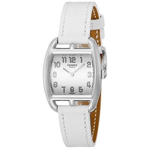[エルメス]HERMES 腕時計 ケープコッドトノー ホワイト文字盤 カーフ革ベルト CT1.210.130.UBC レディース 【並行輸入品】