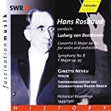 Hans Rosbaud Conducts Ludwig van Beethoven