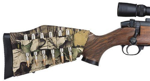 Mossy Oak Neoprene Buttstock Rifle Shell Holder