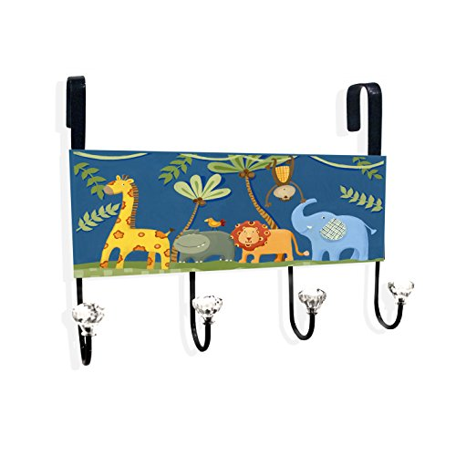 Jungle Animals Over the Door Hanger