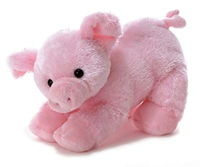 "3 X Aurora Plush 12"" Piggolo Flopsie by Aurora World, Inc."