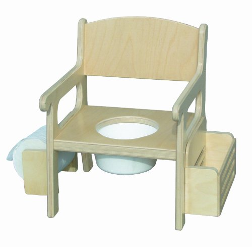Little Colorado Pastel Blue Potty Chair with Accessories - 1