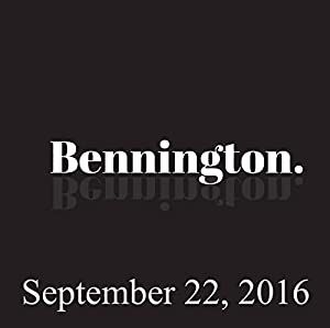Ron Bennington Archive, September 22, 2016 Radio/TV Program