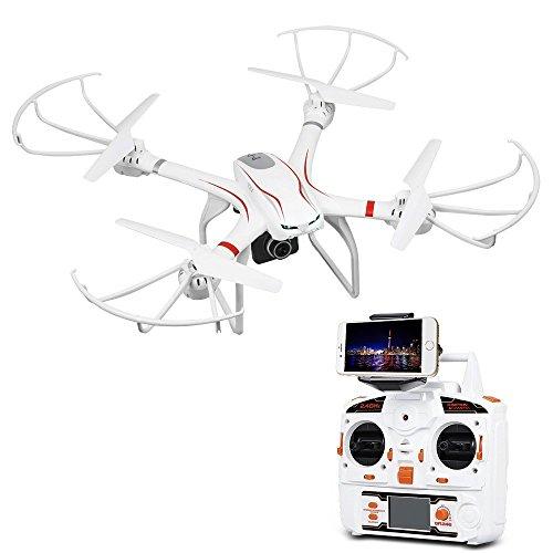 DBPOWER MJX X101C WIFI FPV Drohne mit 720P HD Kamera Live Video Quadcopter Mit Stoßdämpfung Stent Kompatibel mit VR-Headset