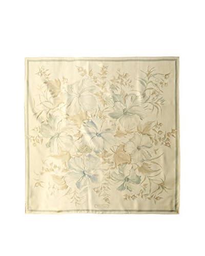 Salvatore Ferragamo Women's Patterned Scarf, Cream/Green