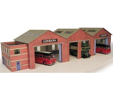 metcalfe-pn125-n-gauge-bus-depot-card-kit-each-bay-70-x-70mm-by-metcalfe