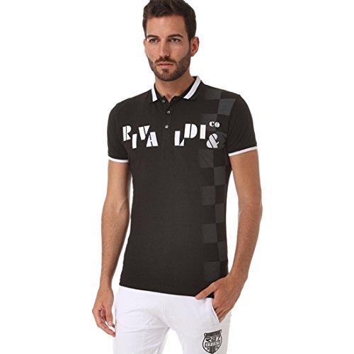 RIVALDI Myrtid-Polo, colore: nero, colore: nero Nero  nero