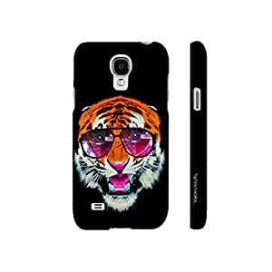 Samsung Galaxy S4 mini 1990's Tiger designer mobile hard shell case by Enthopia