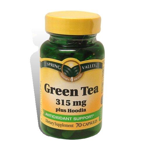 Spring Valley - Green Tea 315 Mg Plus Hoodia, 70 Capsules