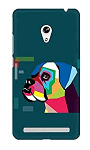 The Fappy Store boxer plastic Back Cover Asus Zenphone 5
