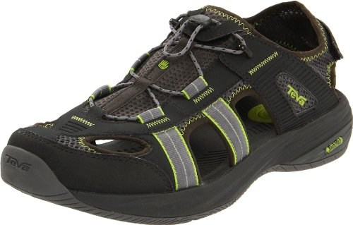 Teva Men's Churnium Sport Shoes - Outdoors 8871 Gunmetal 10.5 UK