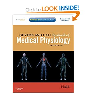 Guyton and Hall Textbook of Medical Physiology, 12th edition