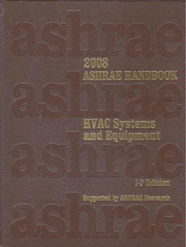 ASHRAE 2000 HVAC Systems and Equipment Handbook