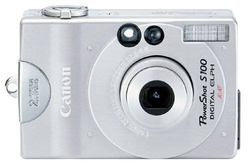 Canon PowerShot S100 2MP Digital ELPH Camera Kit w/ 2x Optical Zoom