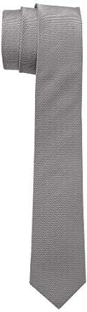 Schwarze Rose Herren Krawatte TIE, Einfarbig, Gr. One size (Herstellergröße: 6CM), Braun (uni braun)