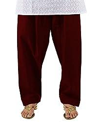 Neha Fashion Women's Regular Patiala Salwar Pant ( Brown )