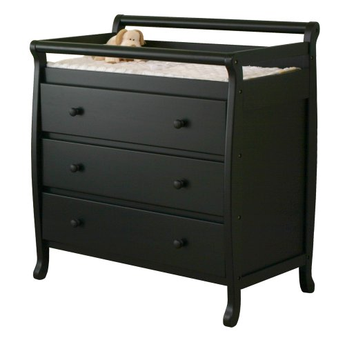 DaVinci M4755E Emily Three Drawer Changer (Ebony)